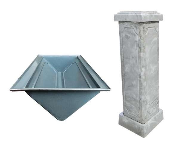 Форма для колонн из бетона купить декоративная укладка бетона